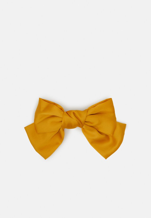 PCCUTIE OVERSIZED BOW  - Accessori capelli - orange ochre