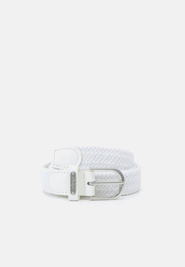 GISELLE ELASTIC BELT - Belt - white