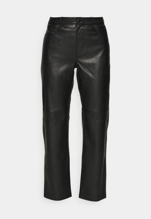 VESTINE TROUSERS - Trousers - black