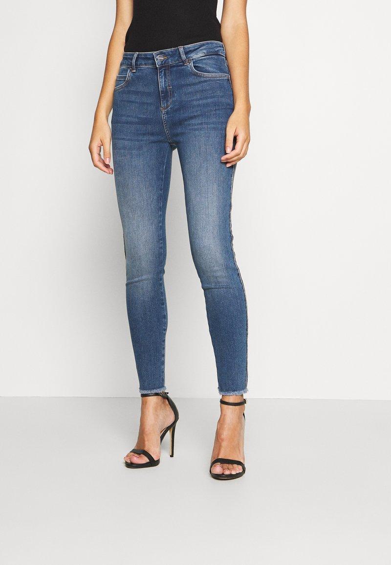 comma - Slim fit jeans - dark blue