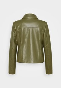 comma - Faux leather jacket - deep green - 7