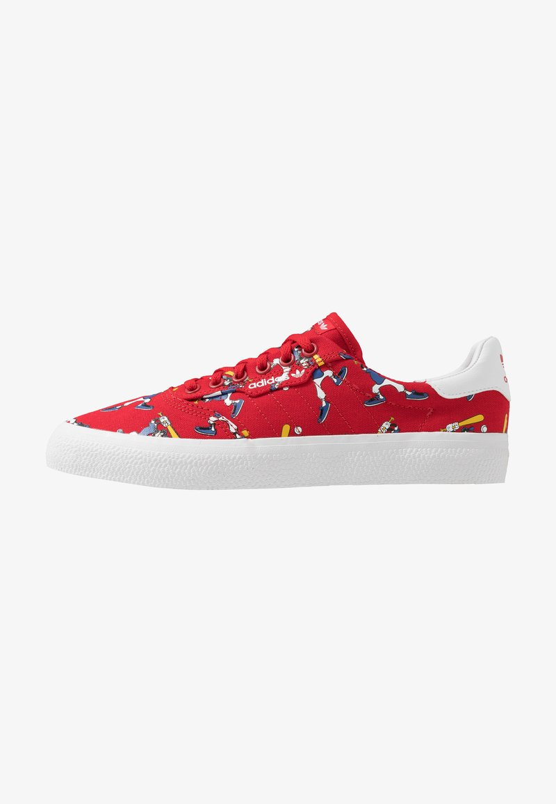 adidas Originals - 3MC X DISNEY GOOFY - Trainers - scarlet/footwear white/collegiate royal