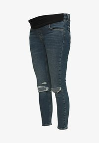 Topshop Maternity - JAMIE ALABAMA RIP - Jeans Skinny Fit - green cast - 0