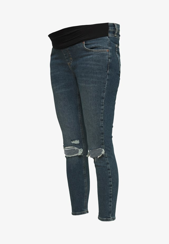 JAMIE ALABAMA RIP - Jeansy Skinny Fit - green cast