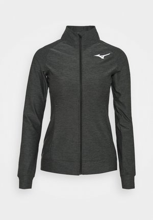 TRAINING JACKET - Hettejakke - black melange