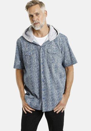 SIXTEN - Shirt - blaugrau