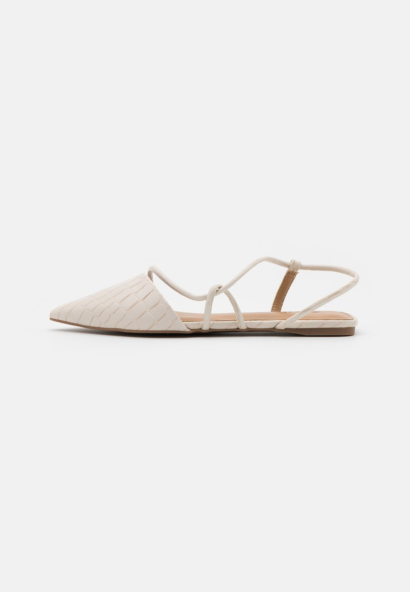 Call it Spring - SELENA - Ankle strap ballet pumps - ice