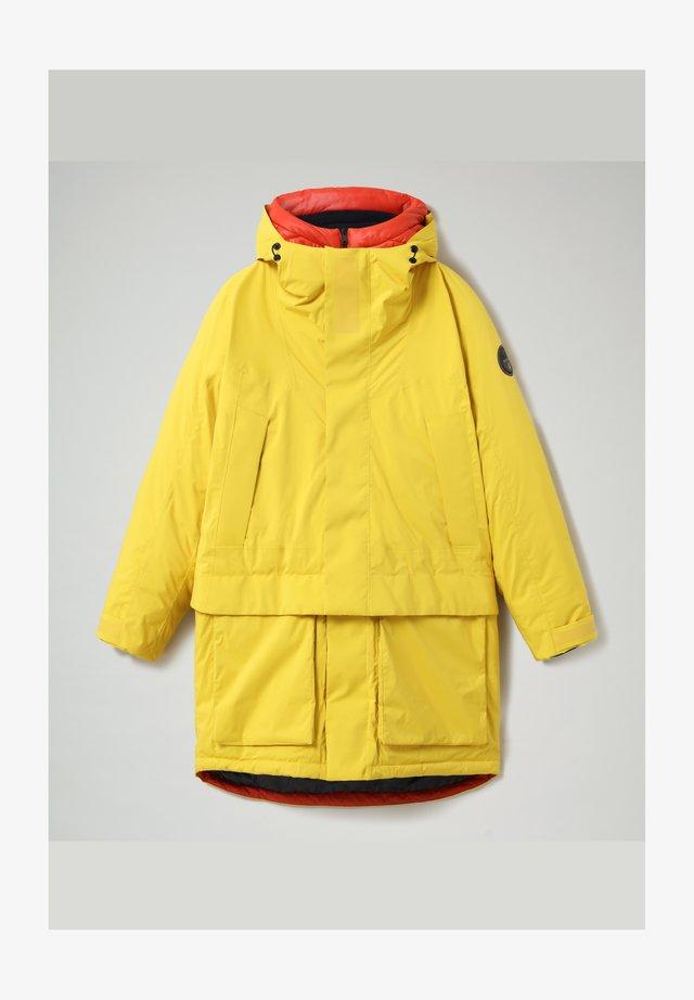 CELSIUS - Winter coat - yellow oil