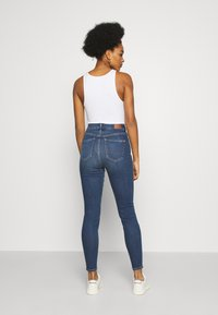 American Eagle - CURVY SUPER RISE JEGGING - Jeans Skinny Fit - indigo abyss - 2