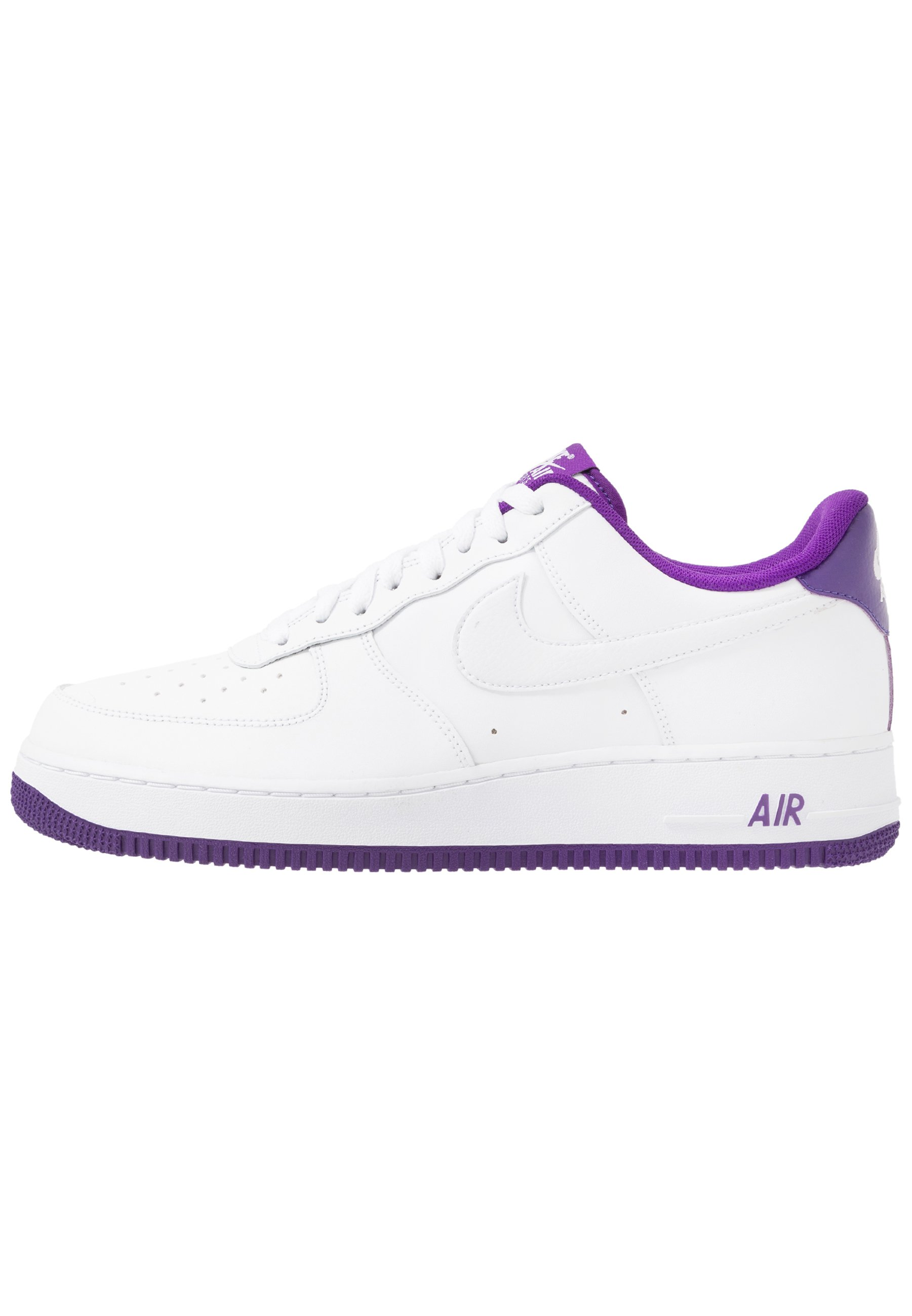 Nike Sportswear AIR FORCE 1 '07 - Baskets basses - white/voltage ...