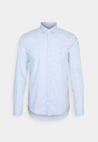 BOLD STRIPE SLIM  - Camisa elegante - light blue