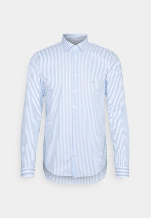 BOLD STRIPE SLIM  - Camicia elegante - light blue