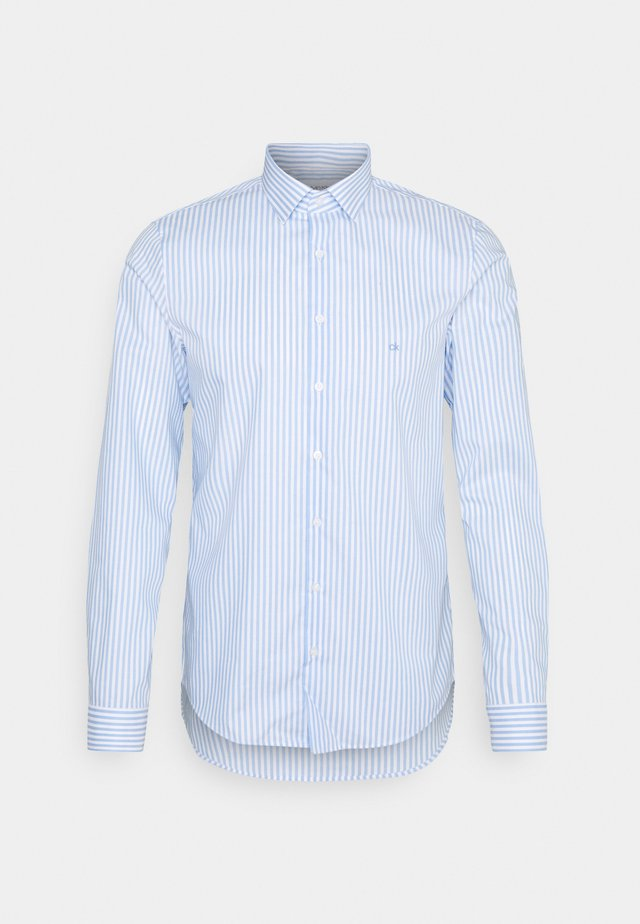 BOLD STRIPE SLIM  - Formal shirt - light blue