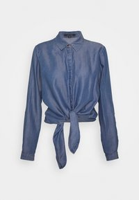 comma - LANGARM - Button-down blouse - dark blue - 5