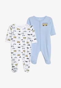 Name it - NBMNIGHTSUIT 2 PACK - Pyjama - blue - 4