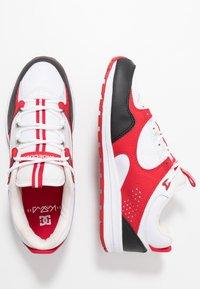 DC Shoes - KALIS LITE - Skate shoes - black/white/red - 1