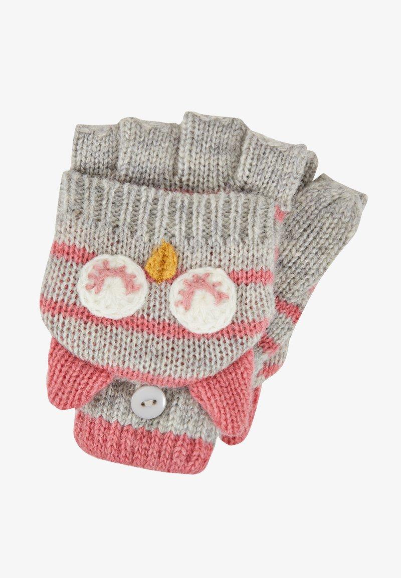 JoJo Maman Bébé - OWL GLOVES - Fingerless gloves - mar