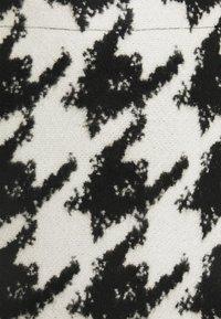 Opus - RAVENNA CONTRAST - Mini skirt - black - 2