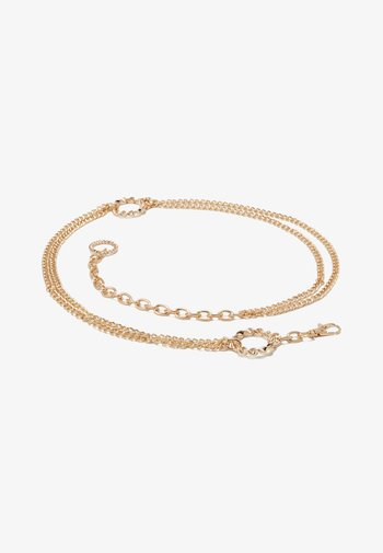NELLA CHAIN BELT - Belt - gold-coloured