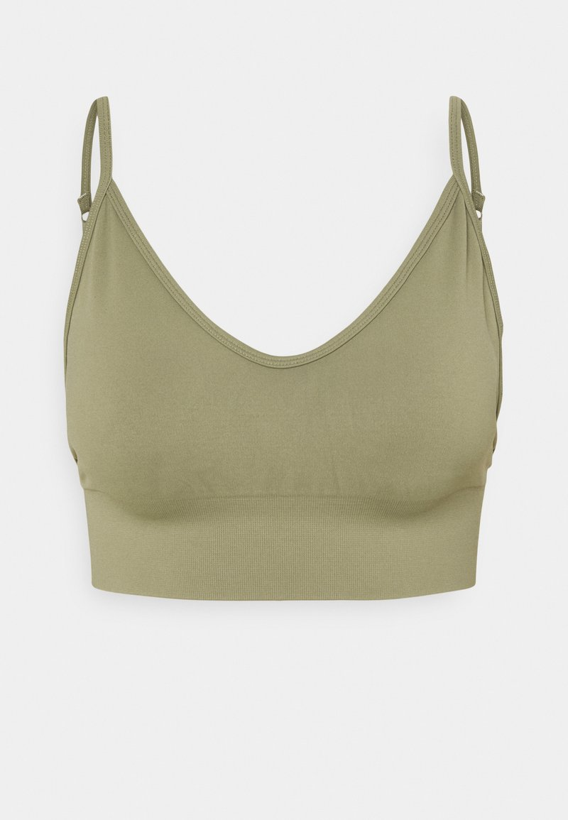 Cotton On Body - LIFESTYLE SEAMLESS V NECK  - Light support sports bra - oregano