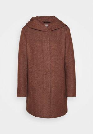 CARSEDONA LIGHT COAT - Classic coat - chocolate fondant