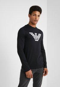Emporio Armani - T-shirt à manches longues - nero - 0