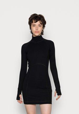 D KON - Jersey dress - black