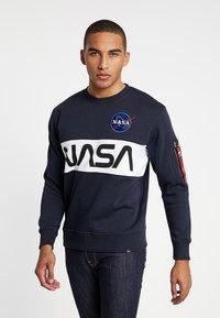 Alpha Industries - NASA INLAY  - Mikina - blue - 0