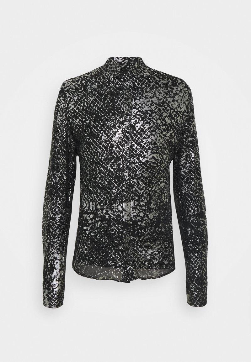 Twisted Tailor - KROLL SHIRT - Koszula - black