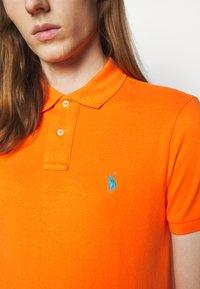Polo Ralph Lauren - SHORT SLEEVE KNIT - Poloshirt - orange - 5