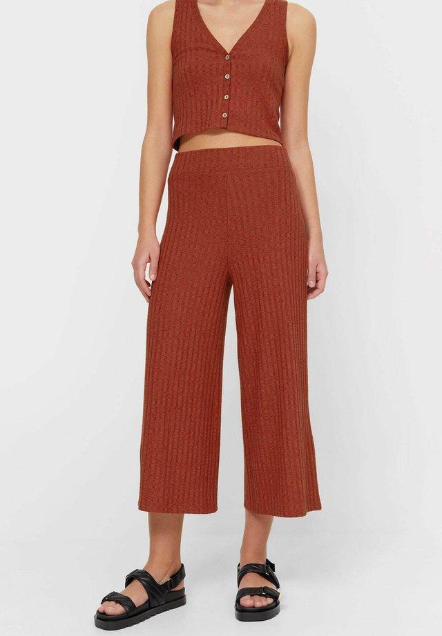 Kalhoty - bordeaux
