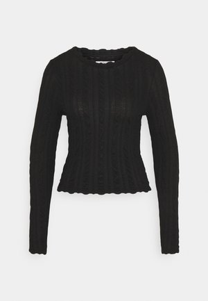 ONLKELLY CROPPED  - Jumper - black
