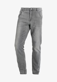 Cars Jeans - PRINCE - Straight leg jeans - grey used - 5
