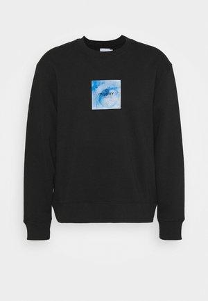 IDENTITY GLOBE PRINT - Sweatshirt - black