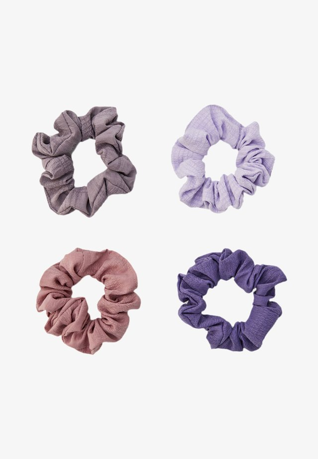 4 PACK - Hair styling accessory - purple