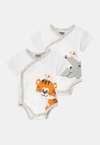 Jacky Baby - 2 PACK UNISEX - Body - white - 0
