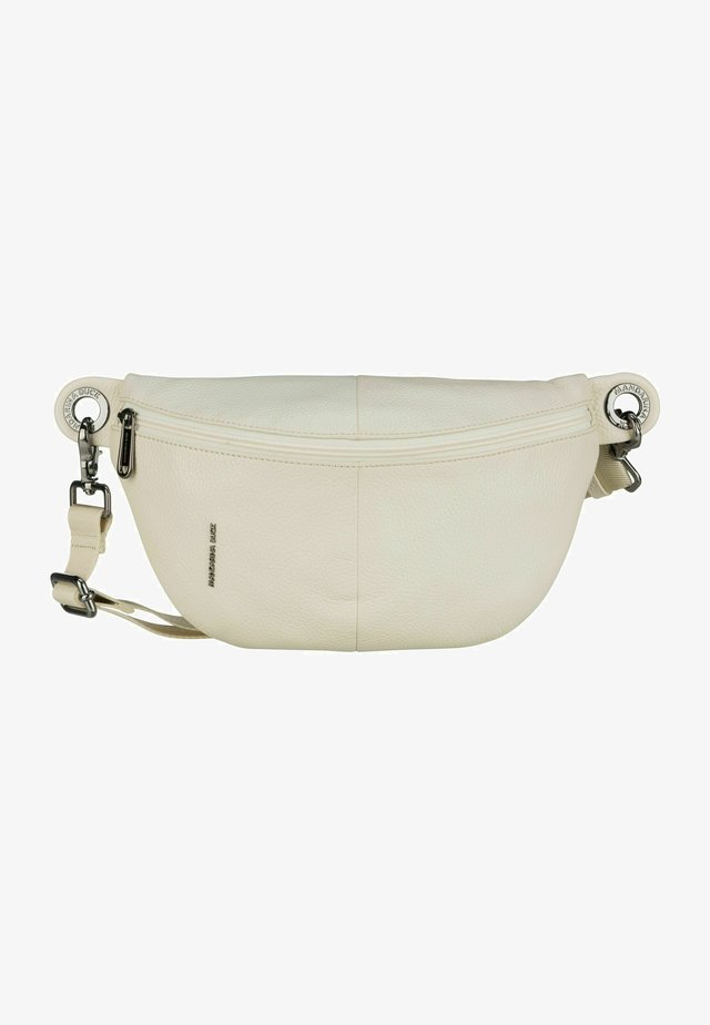 MELLOW - Bum bag - off white