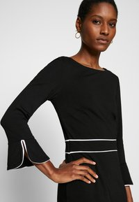 Anna Field - Shift dress - black/white - 4