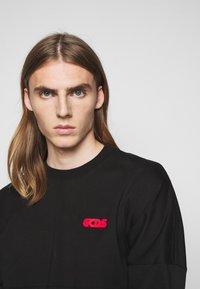 GCDS - ROUND LOGO TEE - Long sleeved top - black - 6