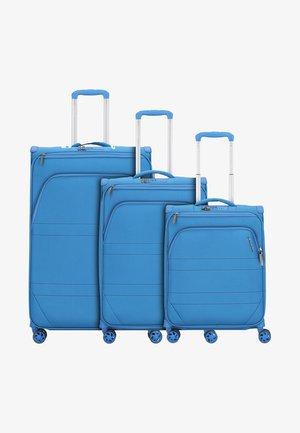 3 SET  - Kofferset - petrol blue