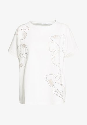 SUNDA STITCH - Print T-shirt - milk