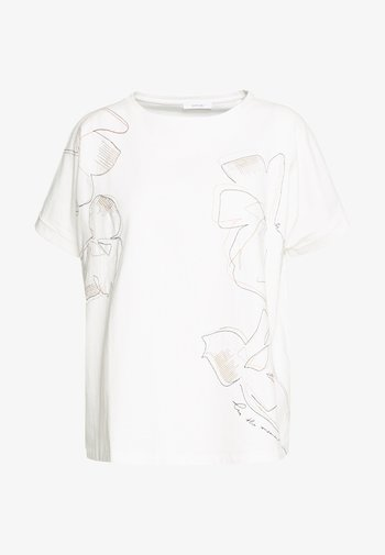 SUNDA STITCH - Print T-shirt - milk