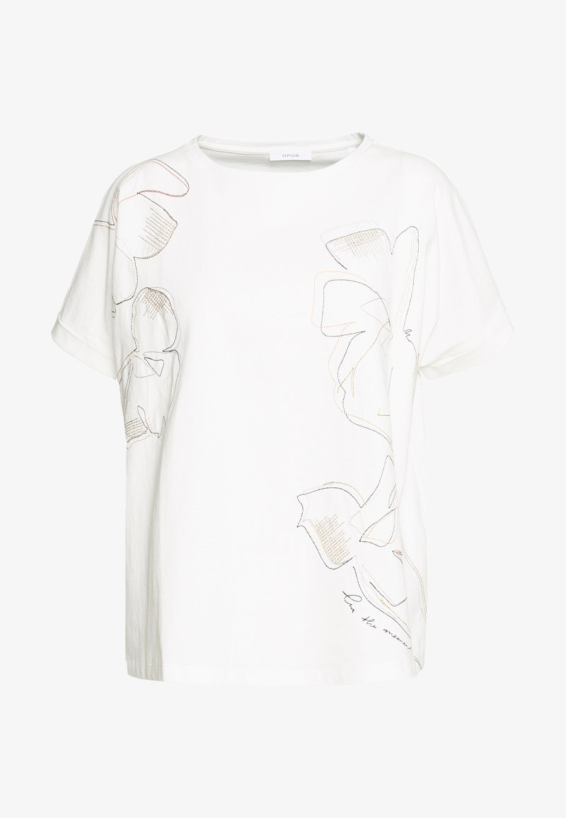 Opus - SUNDA STITCH - T-shirts print - milk