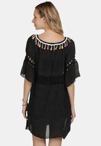IZIA - IZIA KLEID - Day dress - schwarz - 2