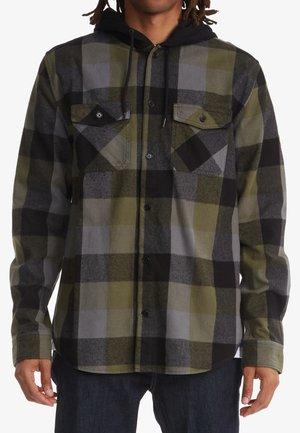 RUCKUS ED - LONG SLEEVE - Long sleeved top - ivy green check