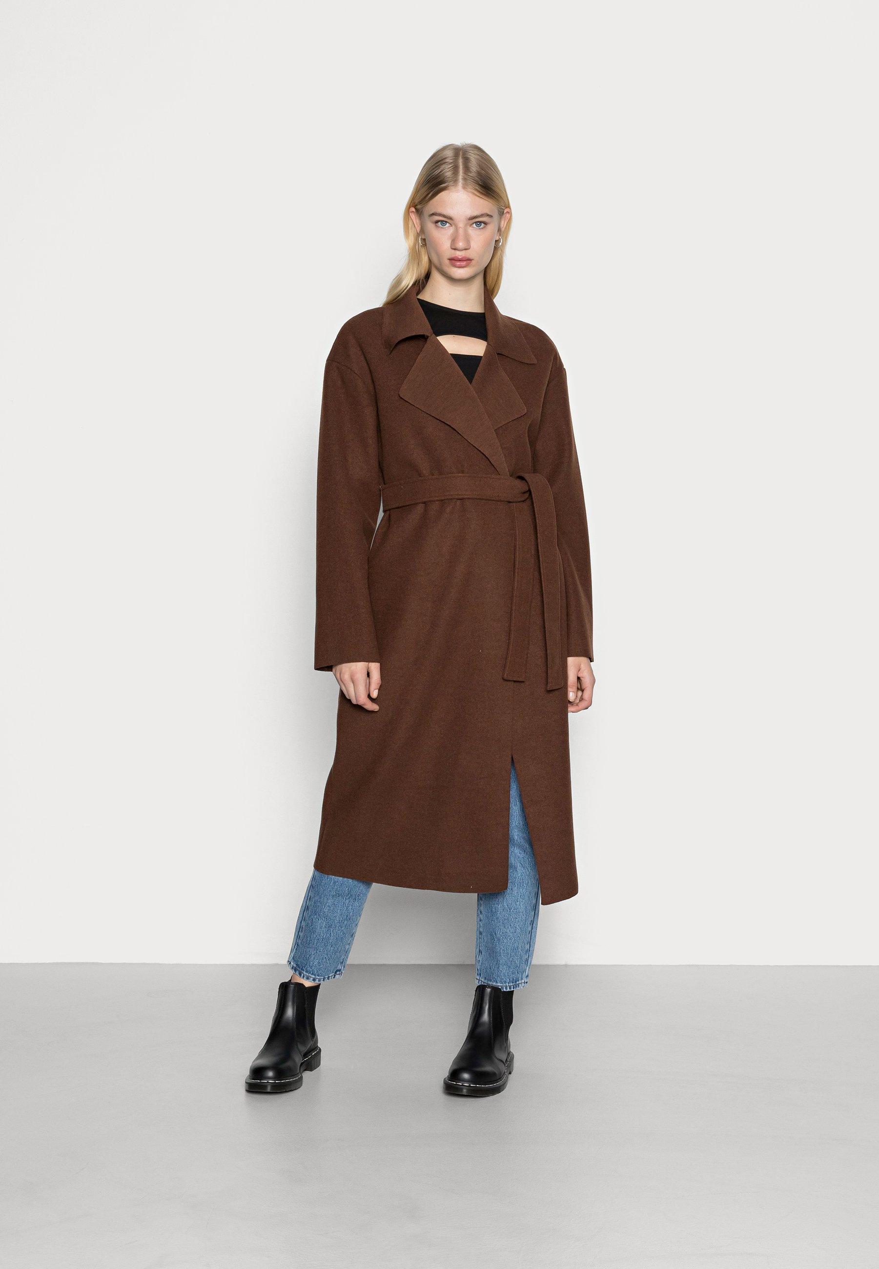 Women CLEAN BELTED COAT - Classic coat