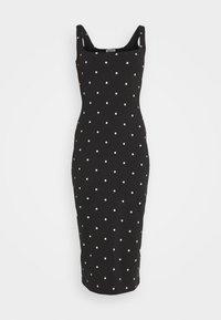 EDITED - QUINN DRESS - Jersey dress - black - 5