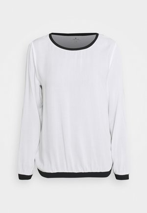 Long sleeved top - whisper white