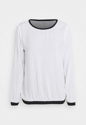 Bluzka z długim rękawem - whisper white