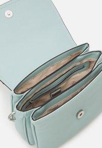 Guess - HANDBAG DESTINY SHOULDER BAG - Across body bag - aqua - 3